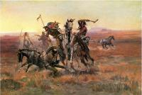 Charles Marion Russell : When Blackfeet and Sioux Meet